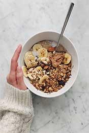 麦片早餐超清唯美