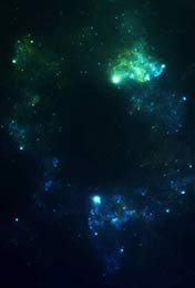神秘的星空手机壁