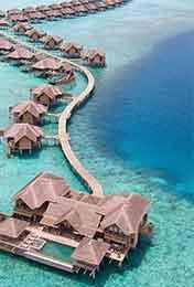 淡蓝色海岛优美风