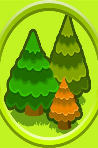 保卫萝卜之三棵松树障碍物手机壁纸