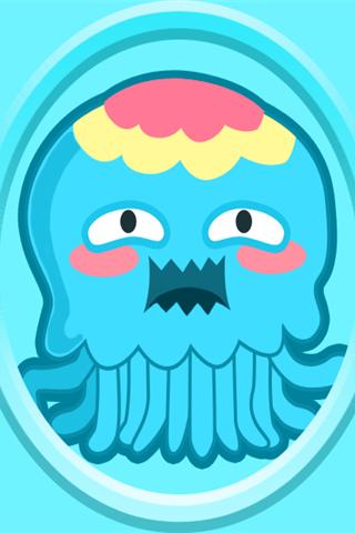 保卫萝卜之蓝色章鱼怪物手机壁纸