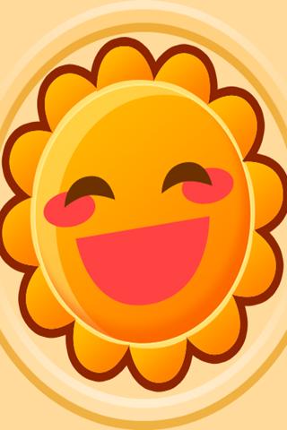 保卫萝卜之太阳花塔防手机壁纸