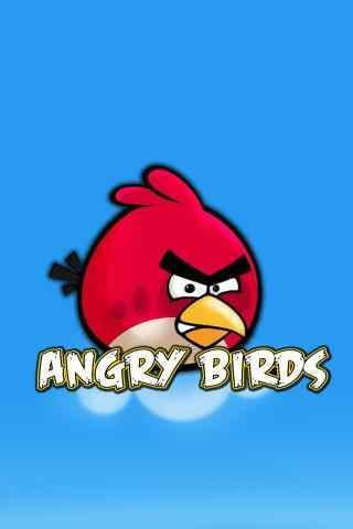愤怒的小鸟蓝天高清手机壁纸