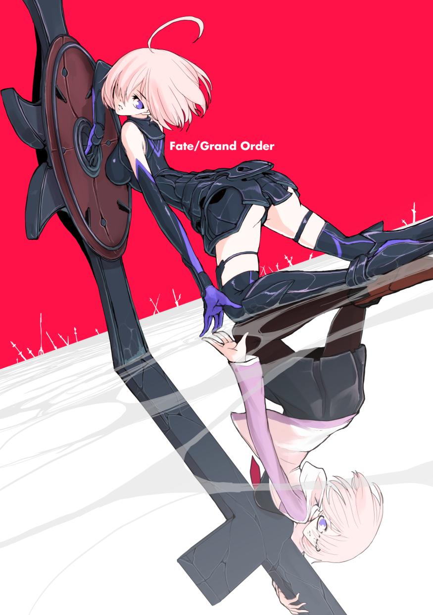 Fate/GrandOrder盾娘shielder壁纸包