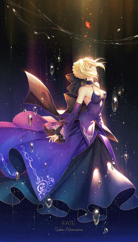 Fate/GrandOrder黑化saber壁纸包