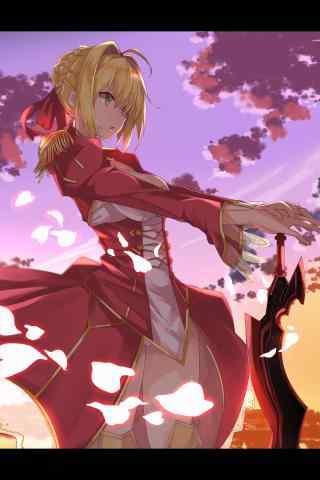 Fate/GrandOrder暴君尼(ni)祿壁紙包(bao)