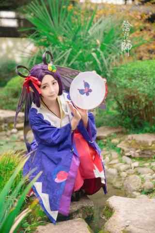 美女cosplay阴阳师式神蝴蝶精
