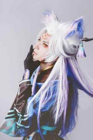 阴阳师cosplay妖狐手机壁纸