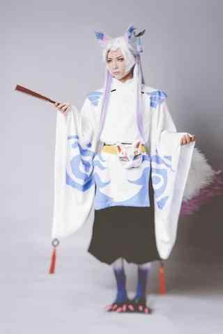 阴阳师cosplay穿大天狗衣服的妖狐