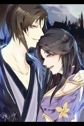 至尊宝亲吻紫霞仙子额头图片