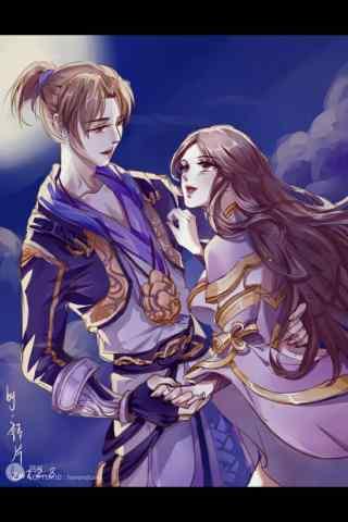 至尊宝紫霞仙子唯美游戏图片