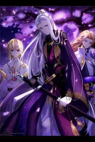 手游梦间集紫薇软剑金铃索归一剑手机壁纸