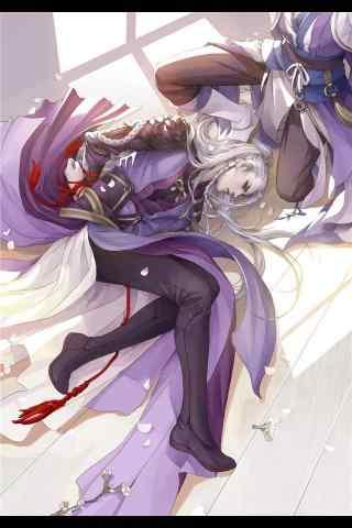 手游梦间集紫薇软剑同人图