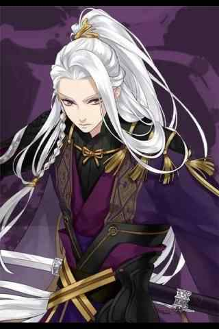手游梦间集紫薇软剑手机锁屏
