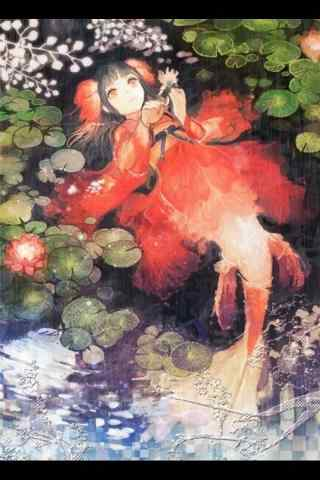 阴阳师鲤鱼精美丽手机壁纸