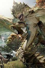 怪物猎人世界雌火龙高清手机壁纸