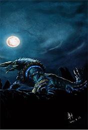 怪物猎人世界雷狼龙帅气图片高清手机壁纸
