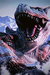 怪物獵人世界轟龍帥氣高清手機壁紙
