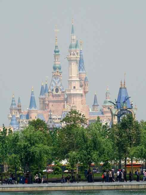 建筑风景图片:迪士尼乐园
