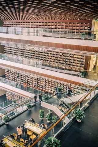 高清图书馆建筑手