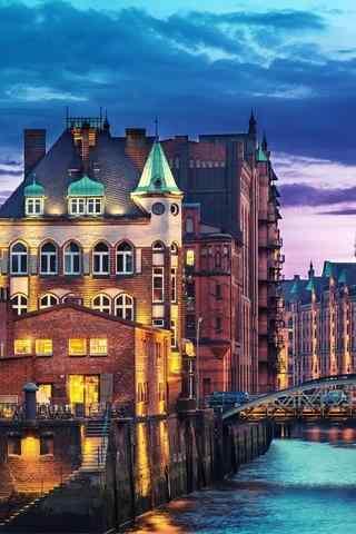 城市建筑景色壁纸