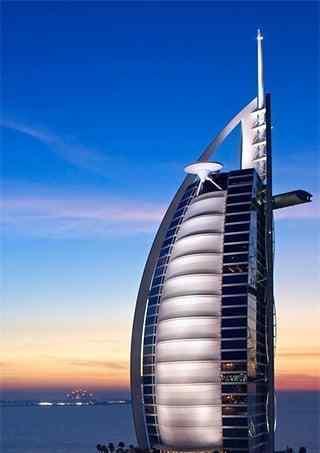 迪拜城市风景手机