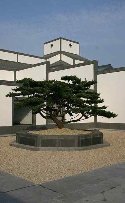 建筑之苏州博物馆手机壁纸