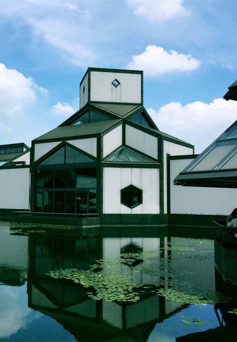 苏州博物馆风景手机壁纸