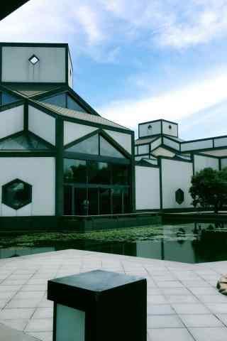 苏州博物馆室外场