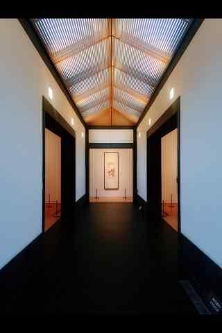 苏州博物馆室内场