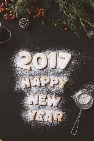 新年快乐2017图片