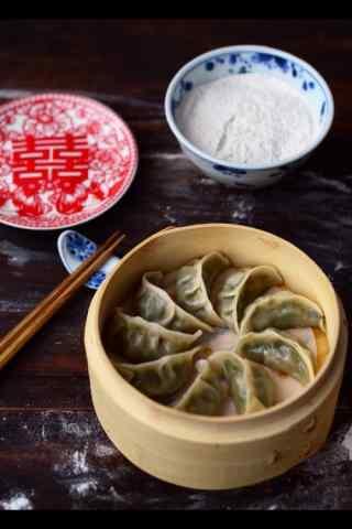 文艺的饺子图片手机壁纸