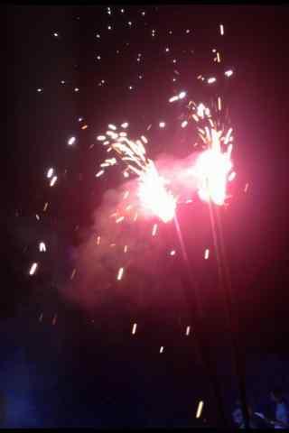 新年焰火唯美图片手机壁纸
