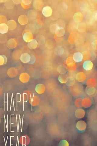 2017年新年-文艺新年快乐手机壁纸