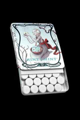白色情人节-白色薄荷糖手机壁纸