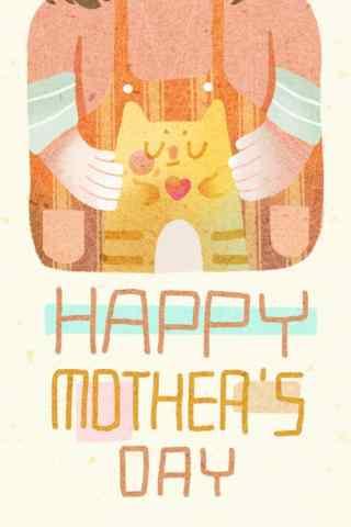 2017母亲节可爱手机壁纸