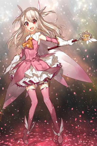 魔法少女☆伊莉雅高清手机壁纸下载(20张)