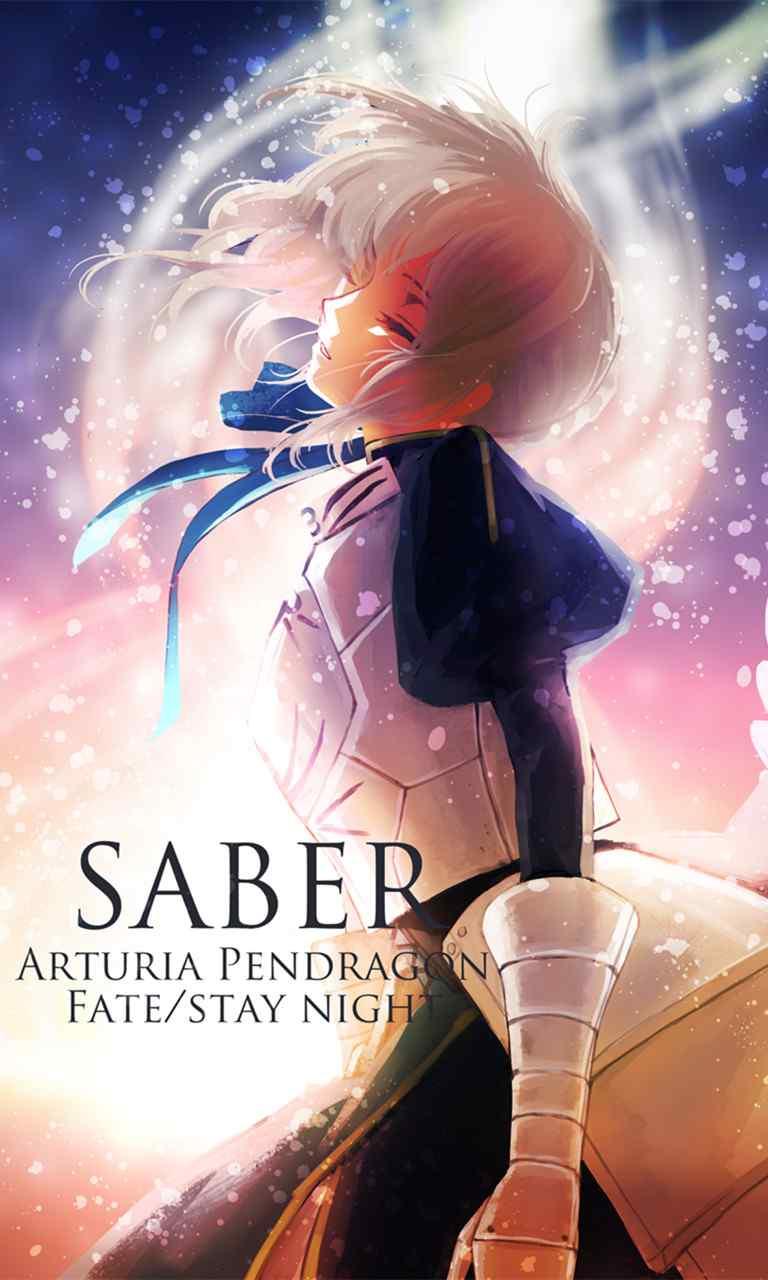 fate系列saber高清手机壁纸图集第一期(20张)