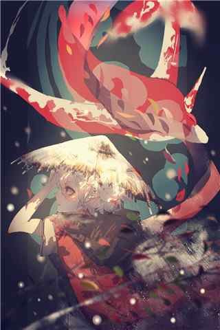 大鱼海棠之唯美湫手机壁纸