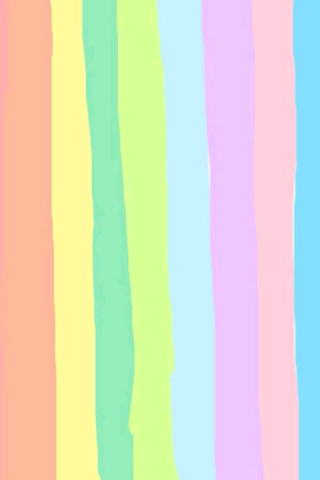 卡通彩虹手机壁纸