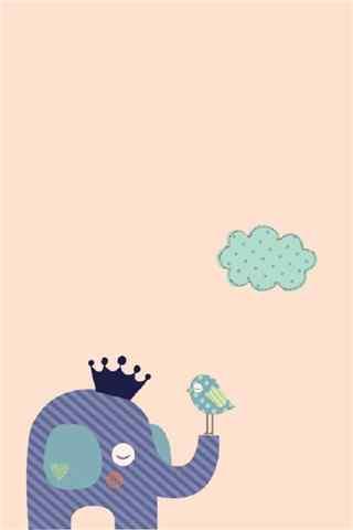 可爱的创意手绘卡