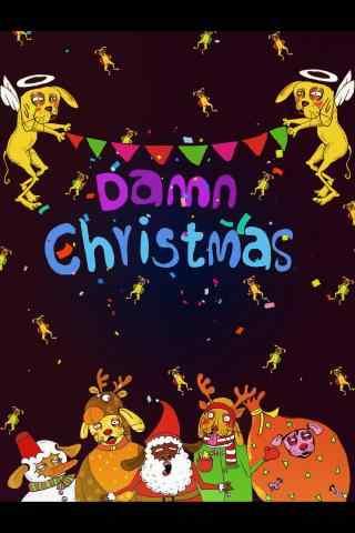 卡通圣诞节图片手机壁纸