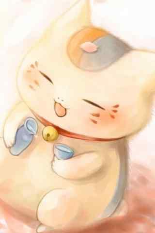萌萌哒卡通招财猫