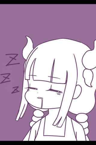 康娜呼呼大睡同人插画手机壁纸