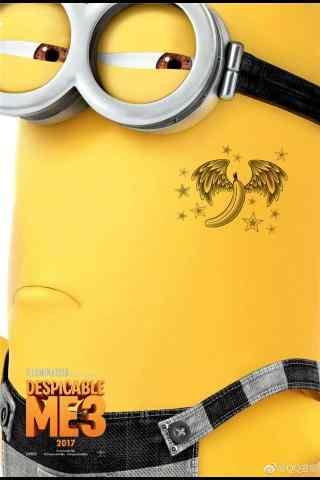 神偷奶爸3傲娇的小黄人手机壁纸
