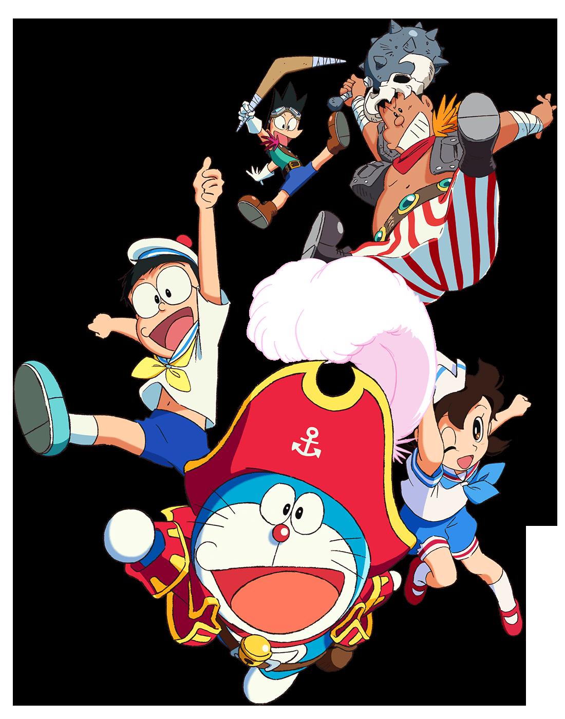 哆啦A梦:大雄的金银岛特别版海报