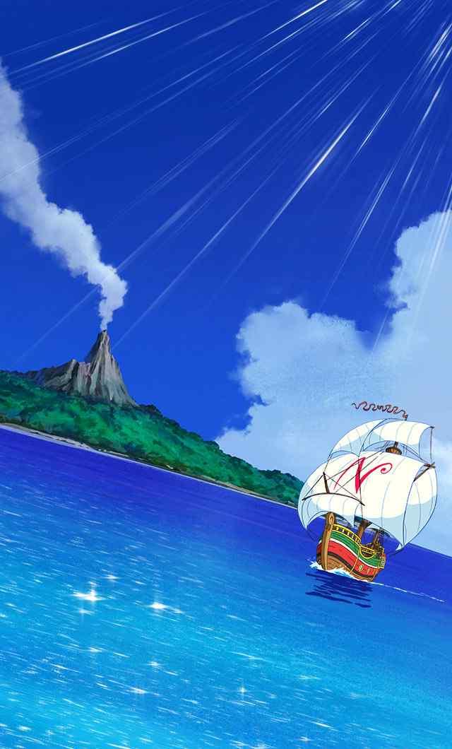 哆啦A梦:大雄的金银岛清新海报手机壁纸