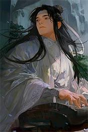 魔(mo)道祖師唯美手繪風高清手機壁紙(zhi)
