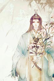 《魔道祖师》蓝忘机儒雅同人手绘古风高清手机壁纸