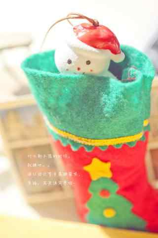可爱的小雪人玩偶